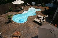 Desert Springs Fiberglass Pool and Spa
