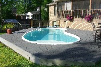 Star Light Fiberglass Pool
